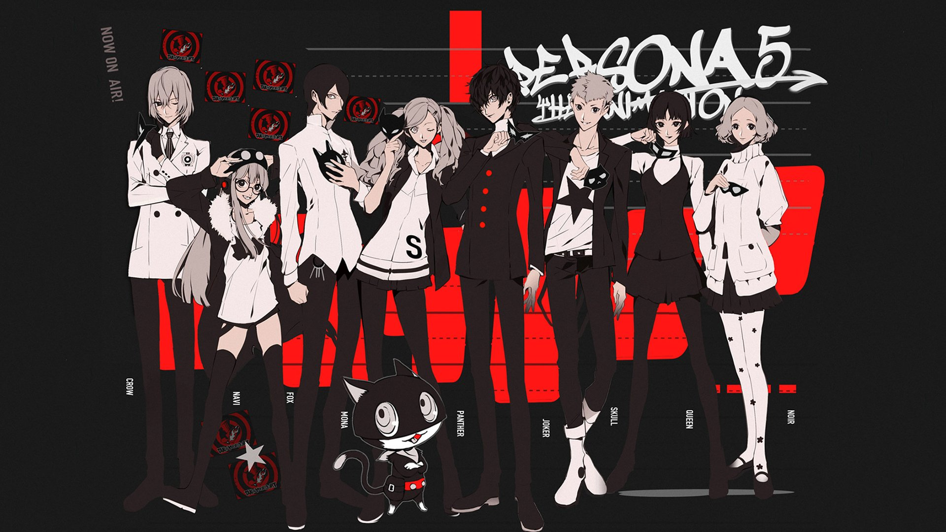 Persona 5 - Party HD Wallpaper | Background Image ...