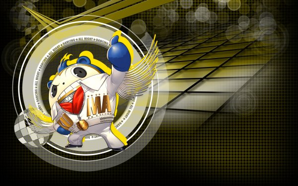 Video Game Persona 4: Dancing all Night Persona Teddie HD Wallpaper | Background Image