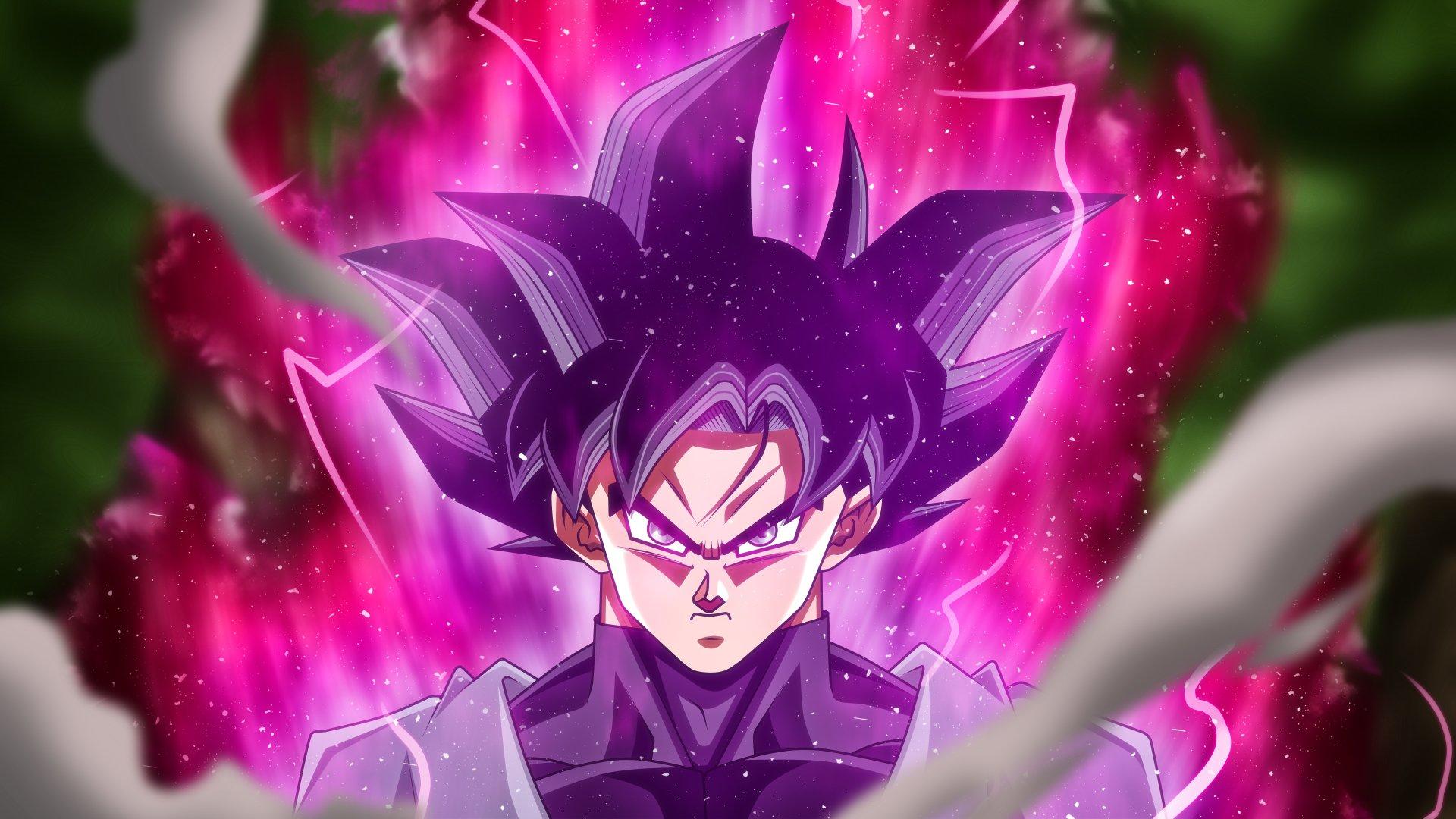 Black Goku Fondo De Pantalla And Fondo De Escritorio: Black Goku 5k Retina Ultra Fondo De