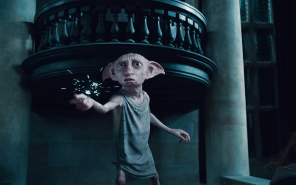 Movie Harry Potter and the Deathly Hallows: Part 1 Harry Potter Dobby HD Wallpaper   Background Image