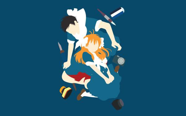 Anime Monthly Girls' Nozaki-kun Chiyo Sakura Umetarou Nozaki HD Wallpaper   Background Image