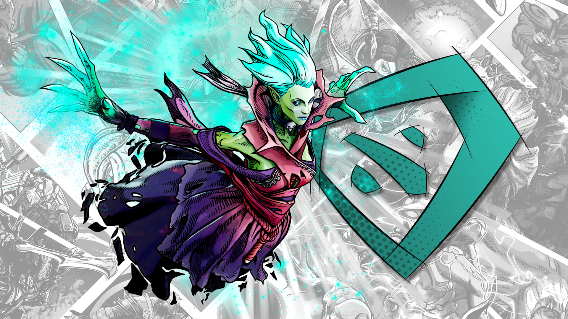 Video Game - DotA 2  Defense Of The Ancients Death Prophet (DotA 2) Wallpaper