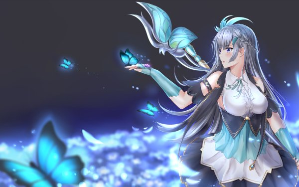 Anime Magia Record: Puella Magi Madoka Magica Side Story Puella Magi Madoka Magica Konoha Shizumi HD Wallpaper   Background Image