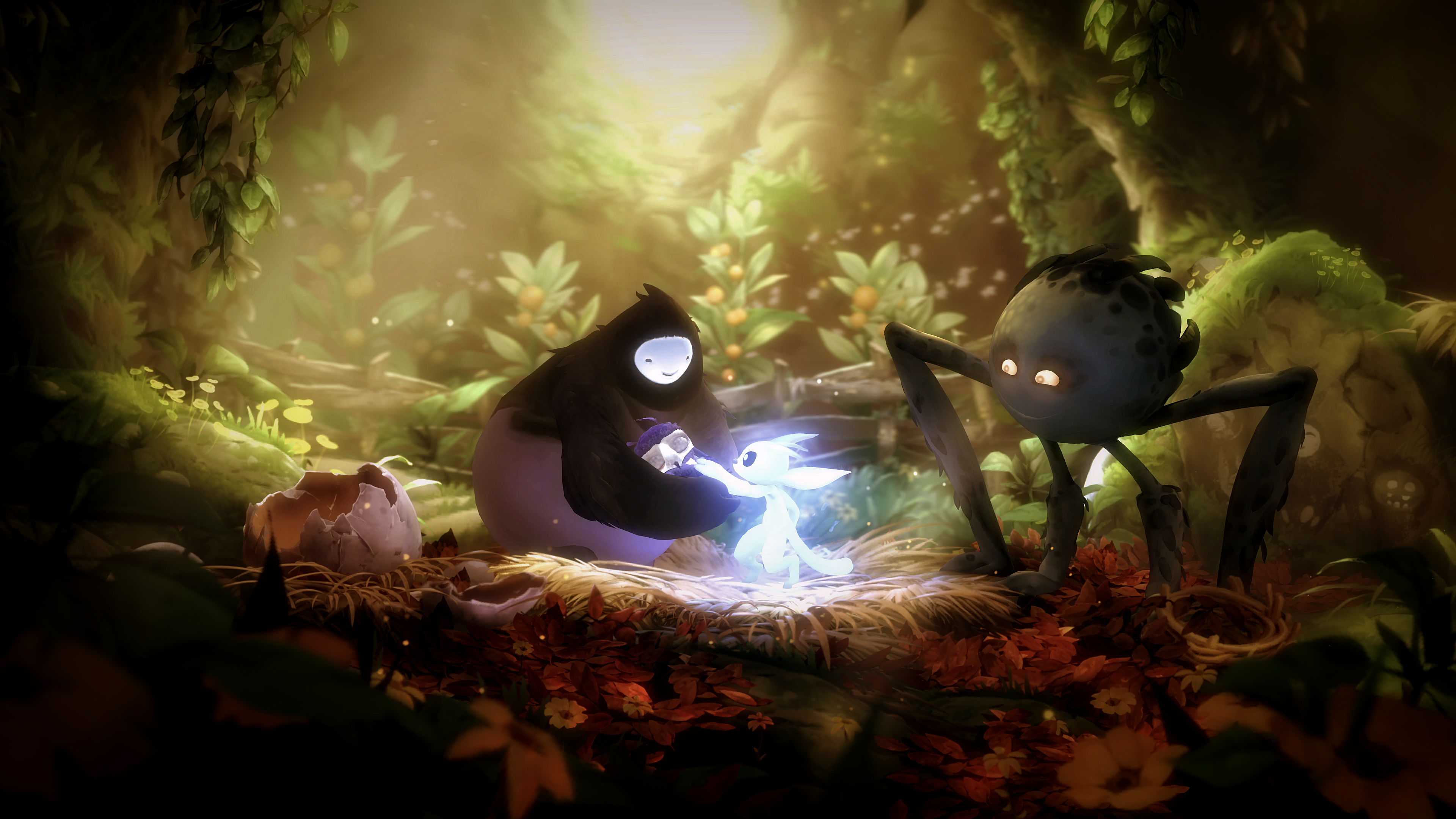 Ori And The Will Of The Wisps 4k Ultra Hd Wallpaper Background