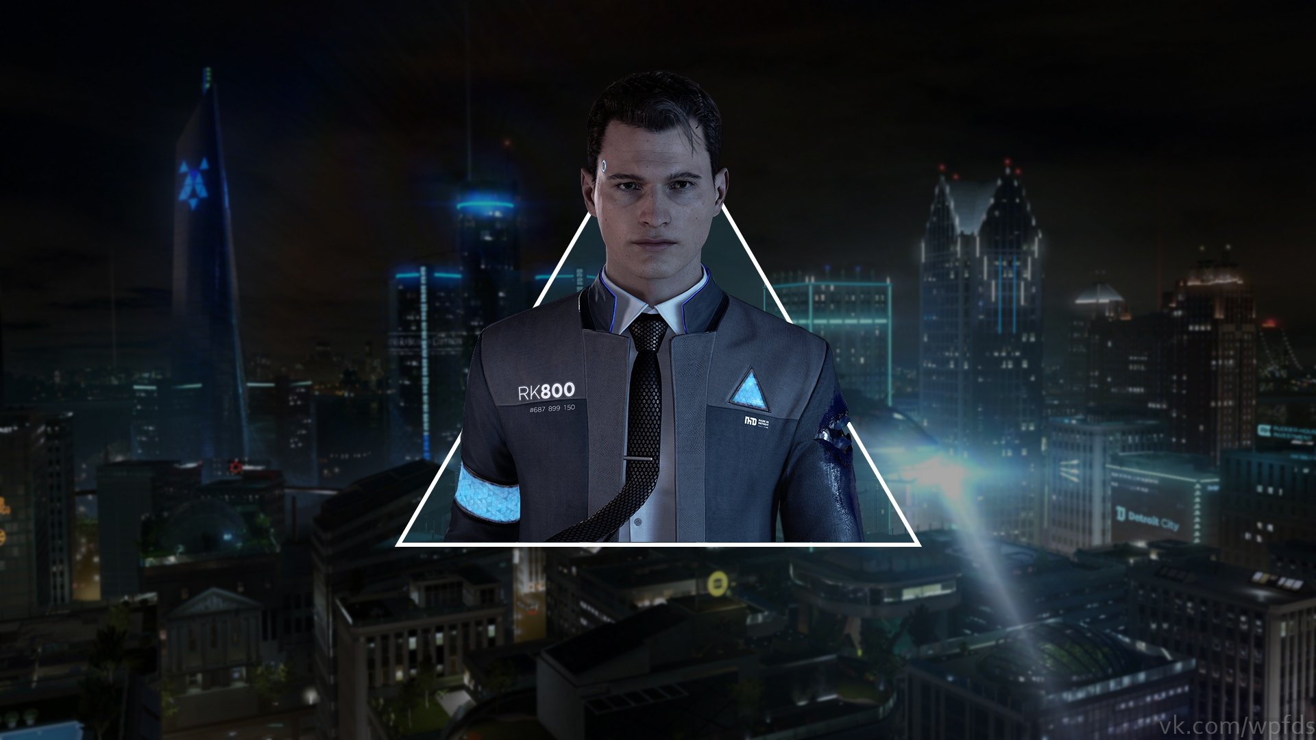 Detroit Become Human Hd Wallpaper Background Image 1920x1080