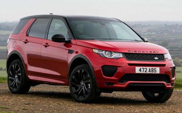 Vehicles Land Rover Discovery Sport Land Rover Land Rover Discovery Sport Dynamic Luxury Car Subcompact Car Crossover Car SUV Red Car Car HD Wallpaper | Background Image
