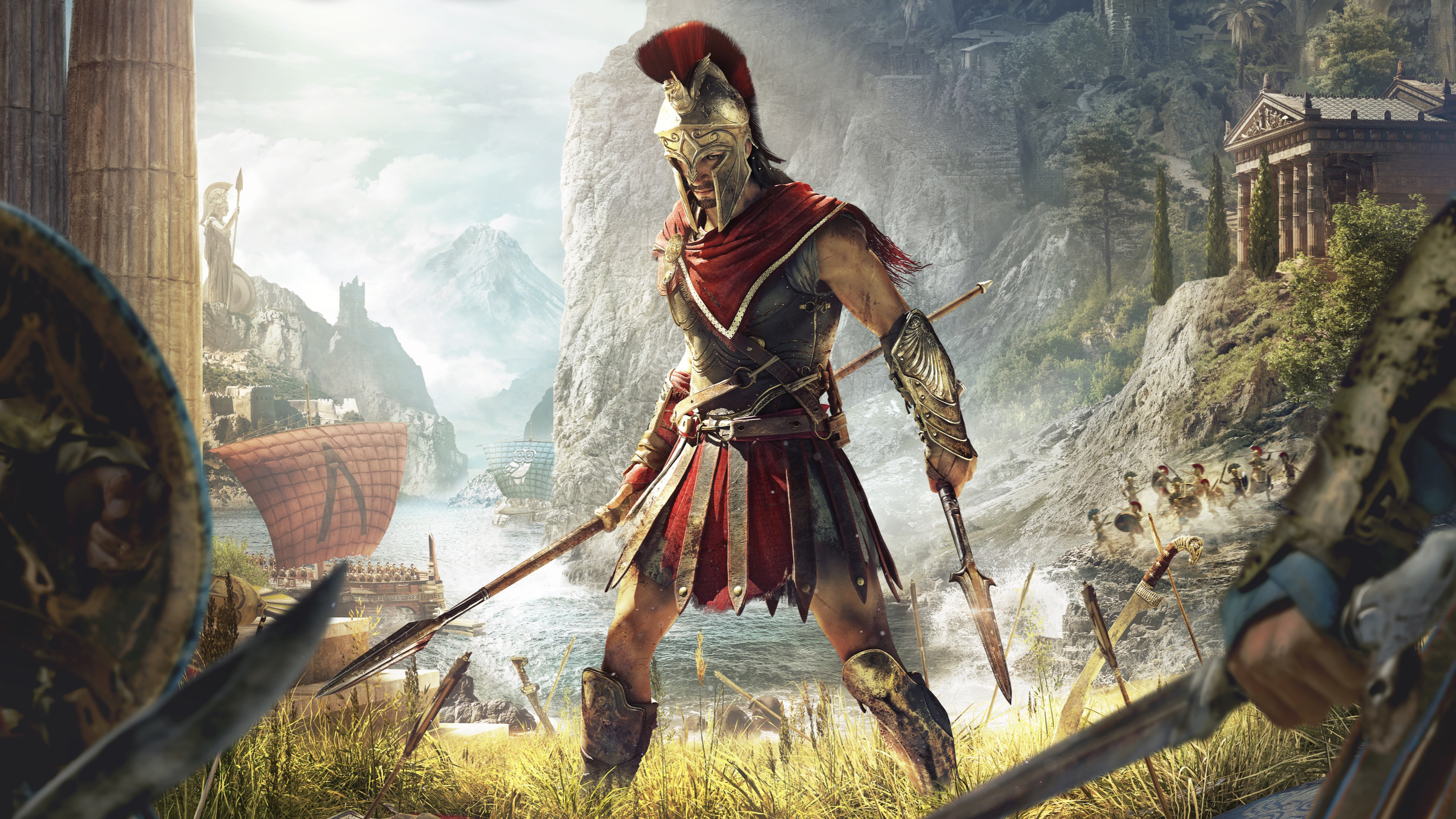 Assassin S Creed Odyssey Hd Wallpaper Background Image