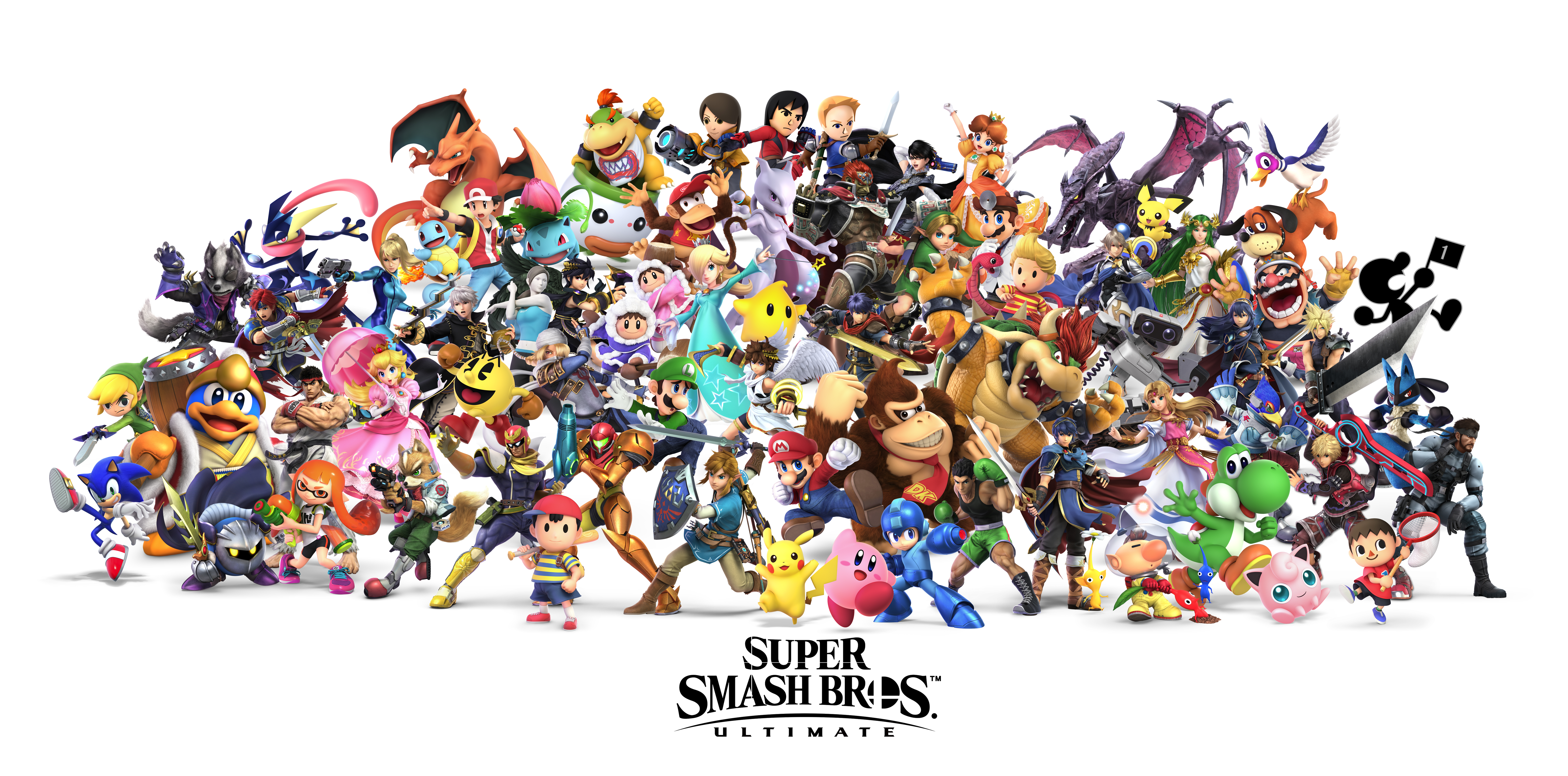 Super Smash Bros Ultimate 8k Ultra Hd Wallpaper Background