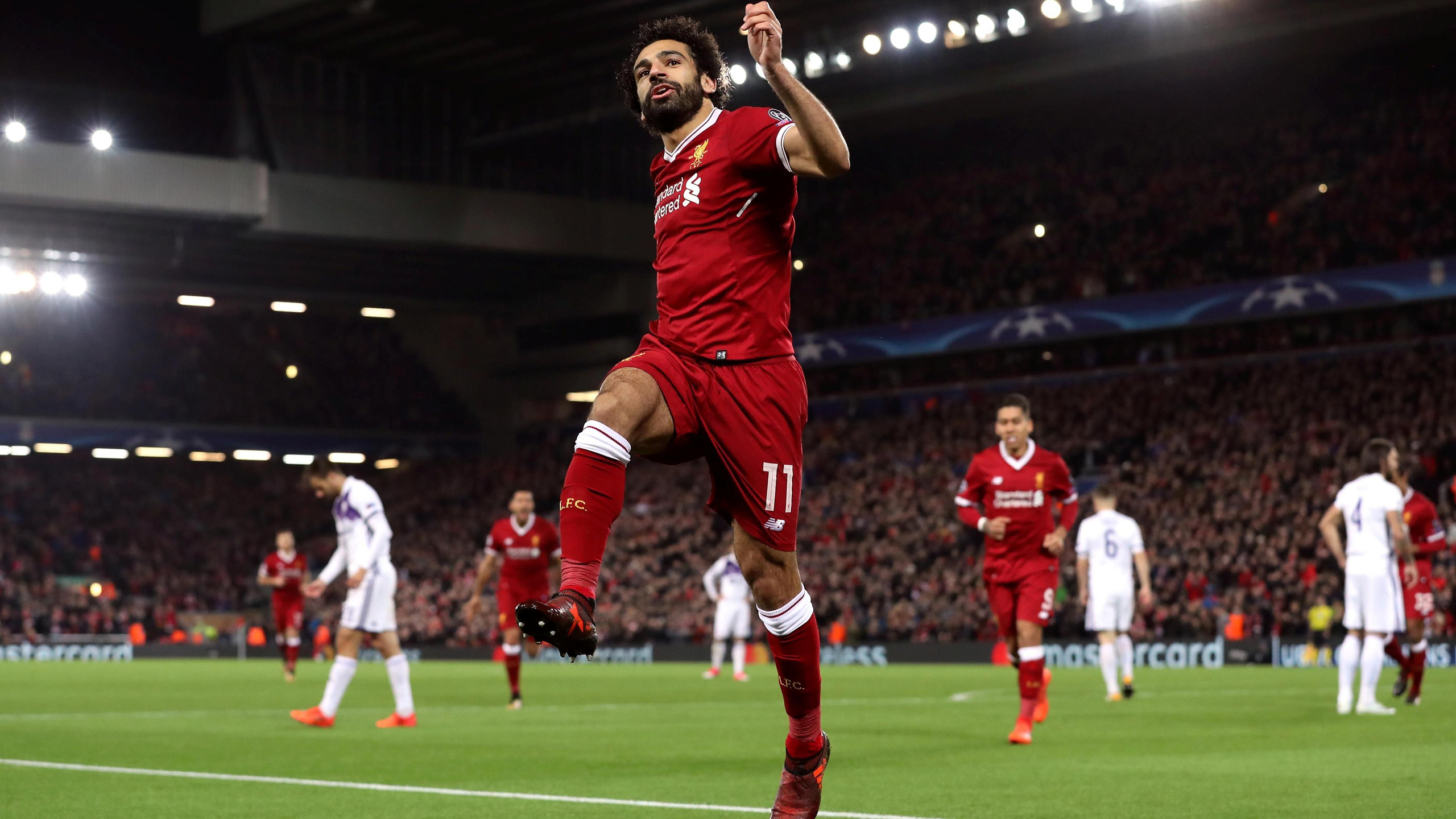 Mohamed Salah HD Wallpaper