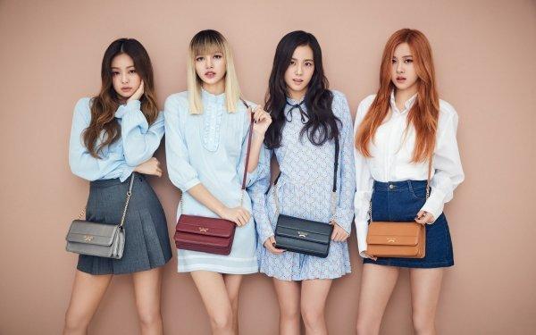Music BlackPink K-Pop Jisoo Jennie Kim Rosé Lisa Jennie HD Wallpaper   Background Image