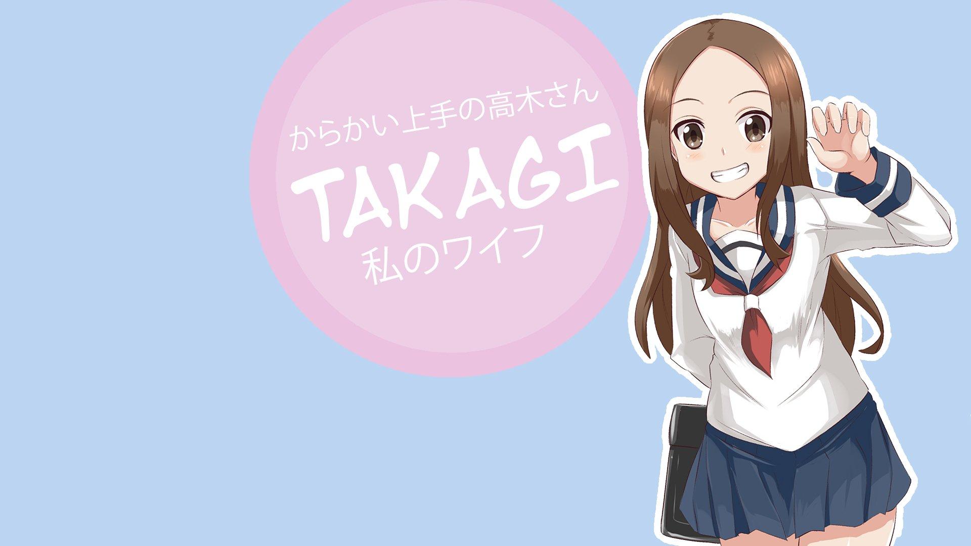 Karakai Jouzu No Takagi San Hd Wallpaper Background Image