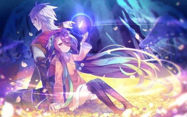 Anime No Game No Life No Game No Life: Zero Shuvi Dola Riku Dola HD Wallpaper | Background Image