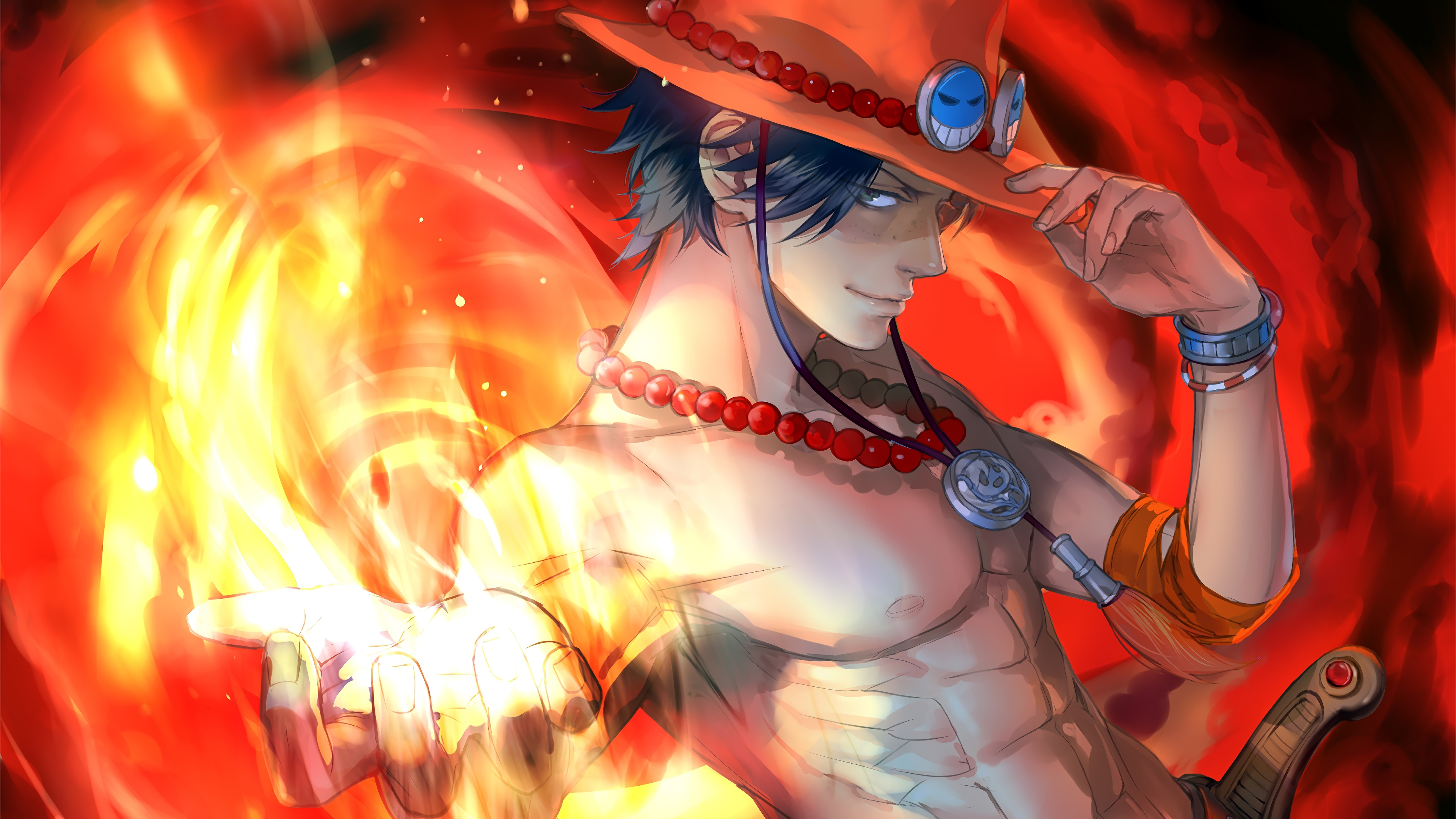 Ideas For Ultra Hd One Piece Ace Wallpaper pictures