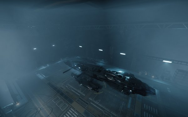 Video Game Star Citizen Constellation Andromeda Levski Hangar HD Wallpaper | Background Image