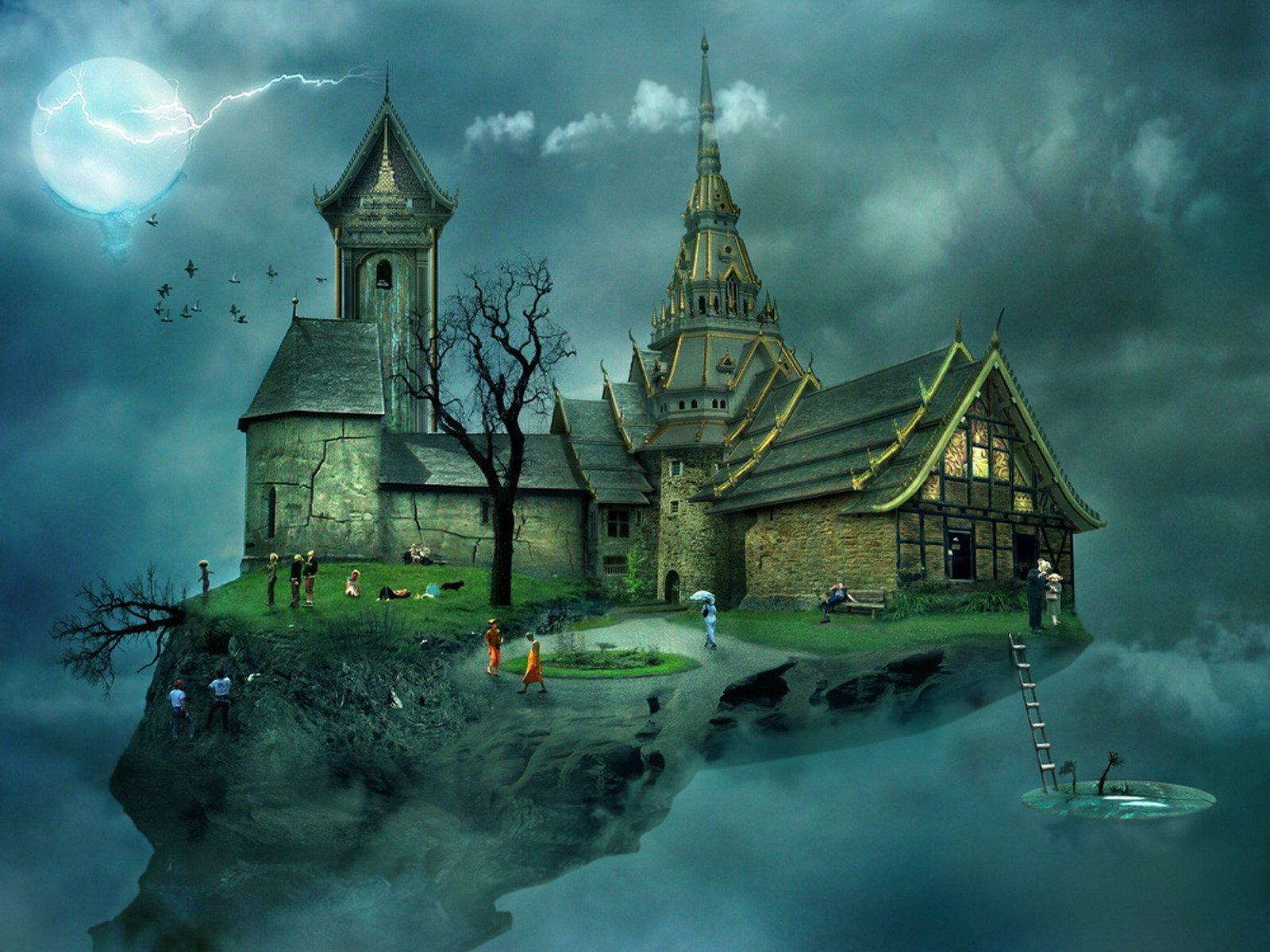 CGI - Fantasy  Bakgrund