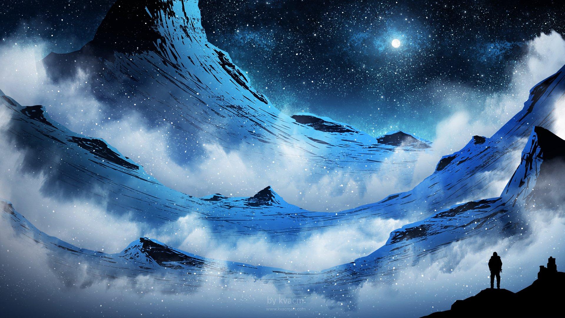 Fantasy - Landschaft  Wallpaper