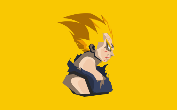 Anime Dragon Ball Z Kai Dragon Ball Vegeta Super Saiyan Fond d'écran HD | Arrière-Plan
