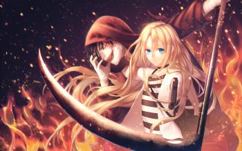 燃えている殺戮の天使