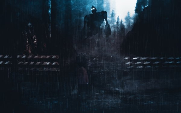 Video Game Crossover Inside The Iron Giant HD Wallpaper | Background Image