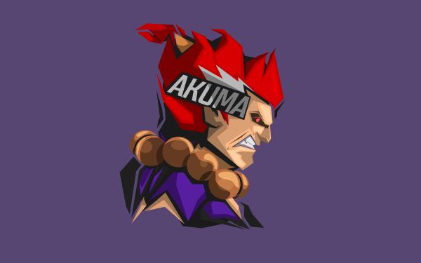 Video Game Street Fighter Akuma HD Wallpaper   Background Image
