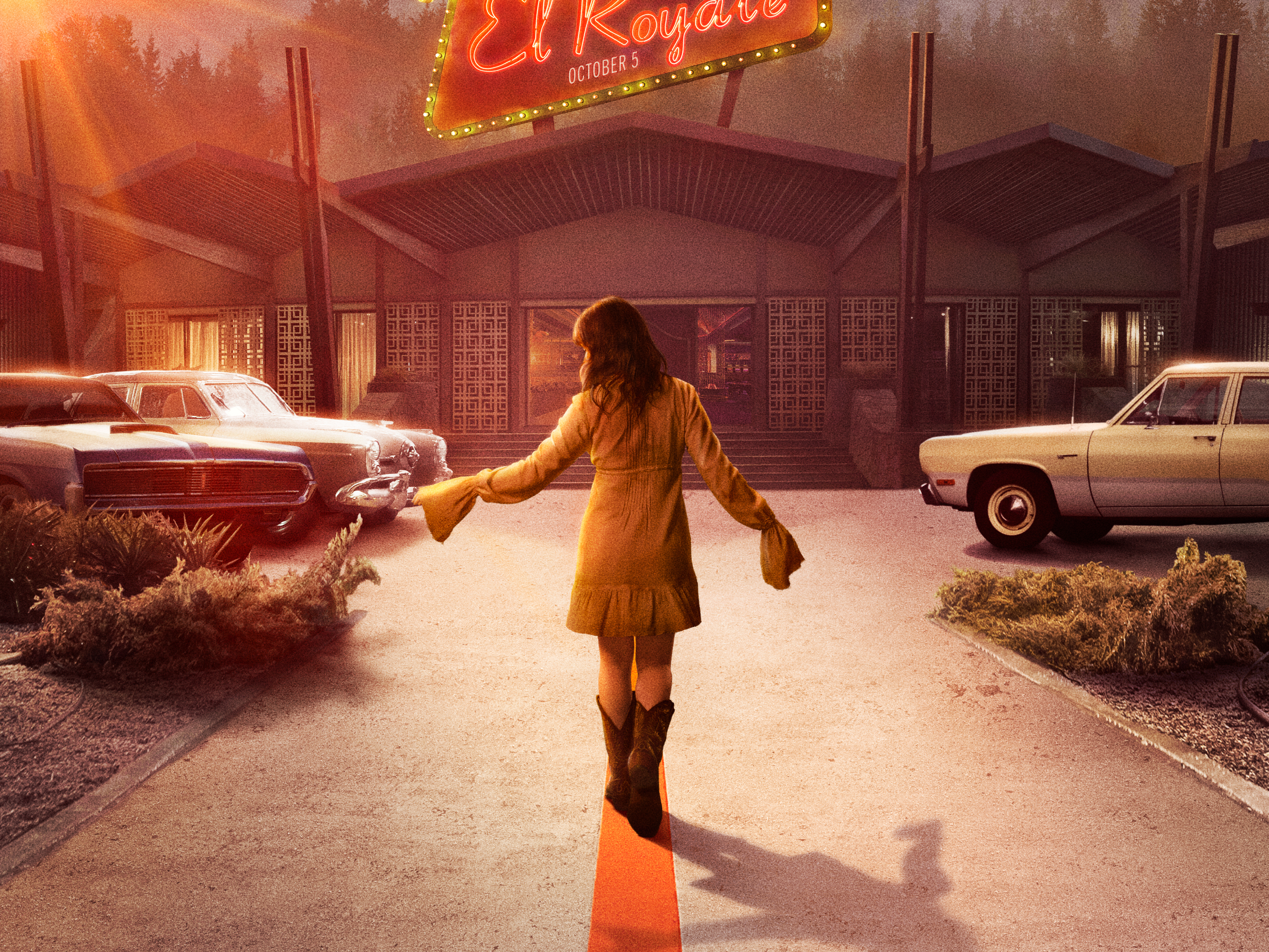 Bad Times At The El Royale 4k Ultra Hd Wallpaper Background