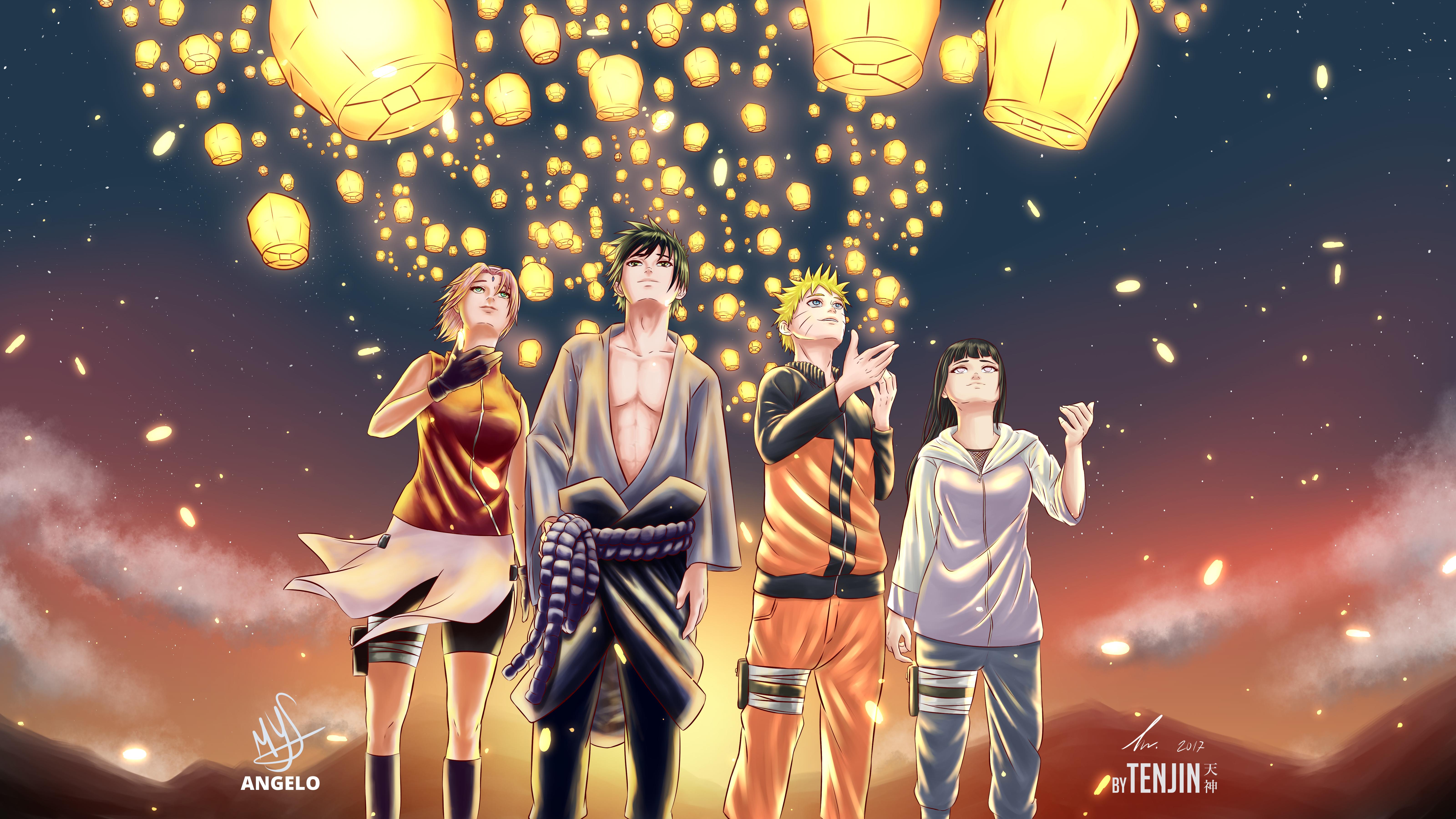 Naruto 5k Retina Ultra Hd Wallpaper Background Image 6400x3600