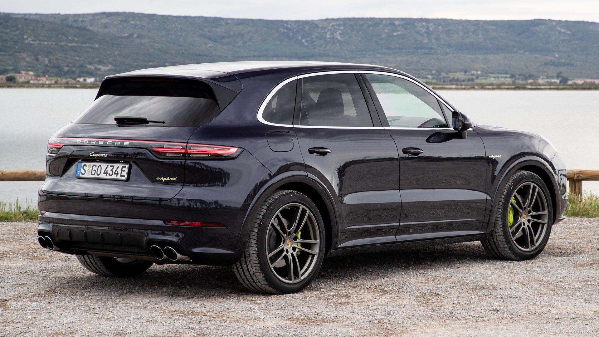 2018 Porsche Cayenne E Hybrid Sportdesign Package Hd