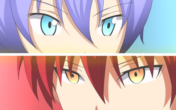 Anime Assassination Classroom Karma Akabane Ritsu HD Wallpaper | Background Image