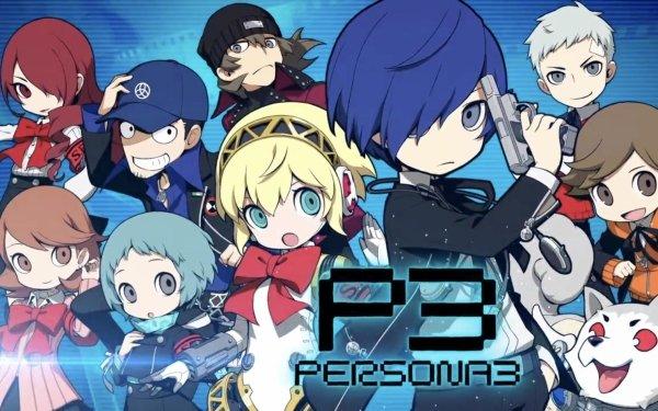 Video Game Persona Q 2 Persona Minato Arisato Koromaru Aigis Mitsuru Kirijo Akihiko Sanada Yukari Takeba Junpei Iori HD Wallpaper | Background Image
