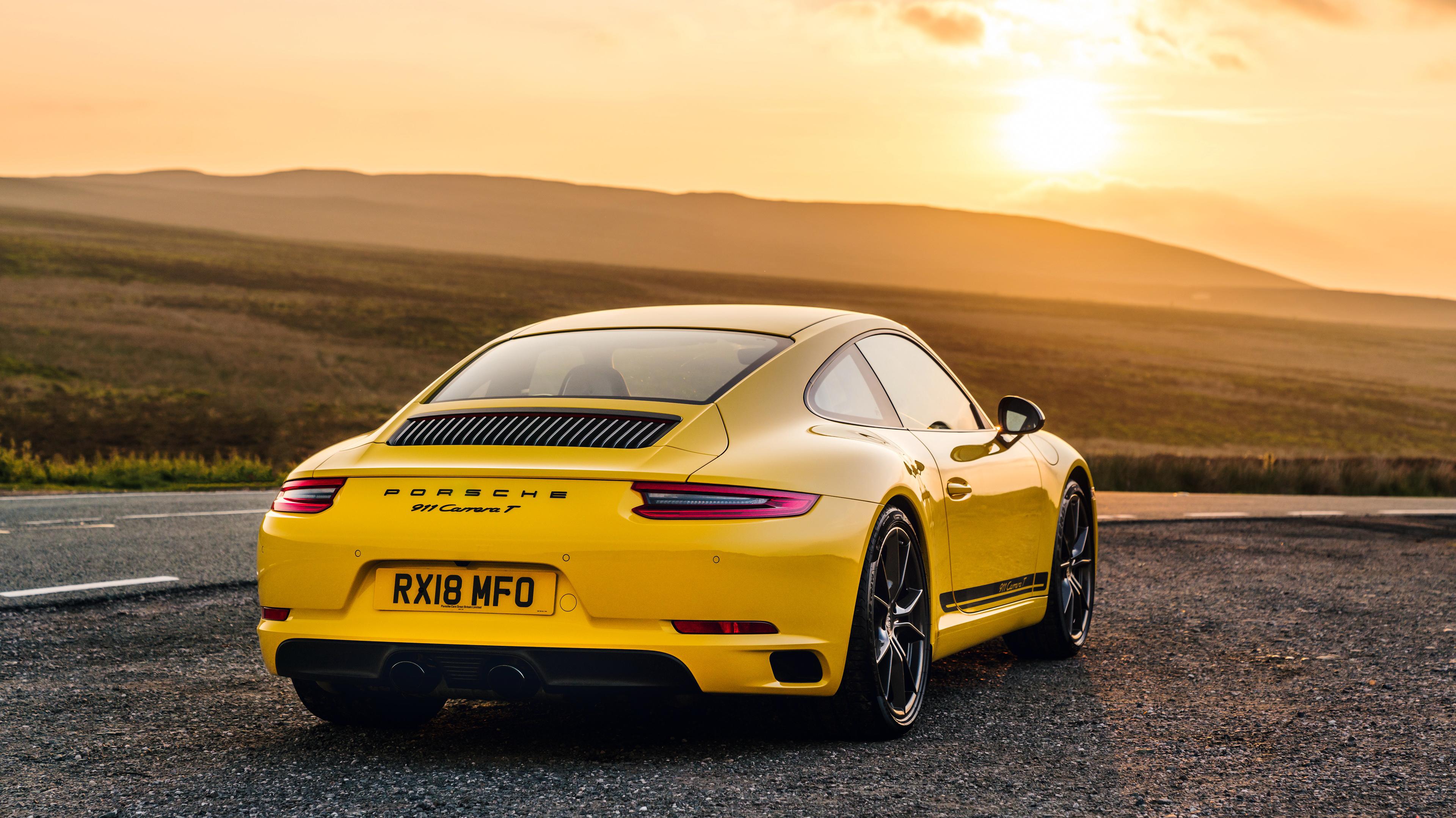 Porsche 911 Carrera T 4k Ultra Papel De Parede Hd Plano De Fundo 3840x2160 Id 940360 Wallpaper Abyss