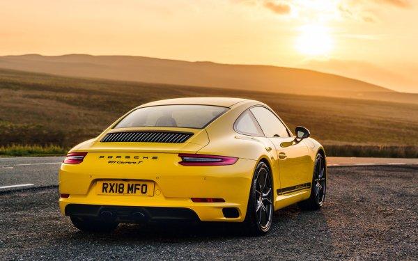 Vehicles Porsche 911 Carrera T Porsche Porsche 911 Porsche 911 Carrera Sport Car Yellow Car HD Wallpaper | Background Image