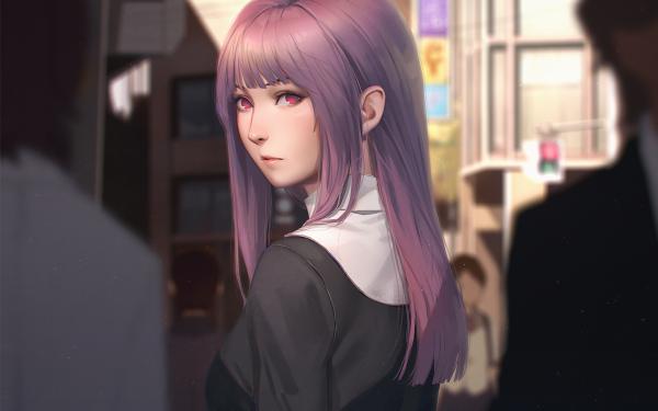 Anime Kara no Kyōkai Fujino Asagami HD Wallpaper | Background Image