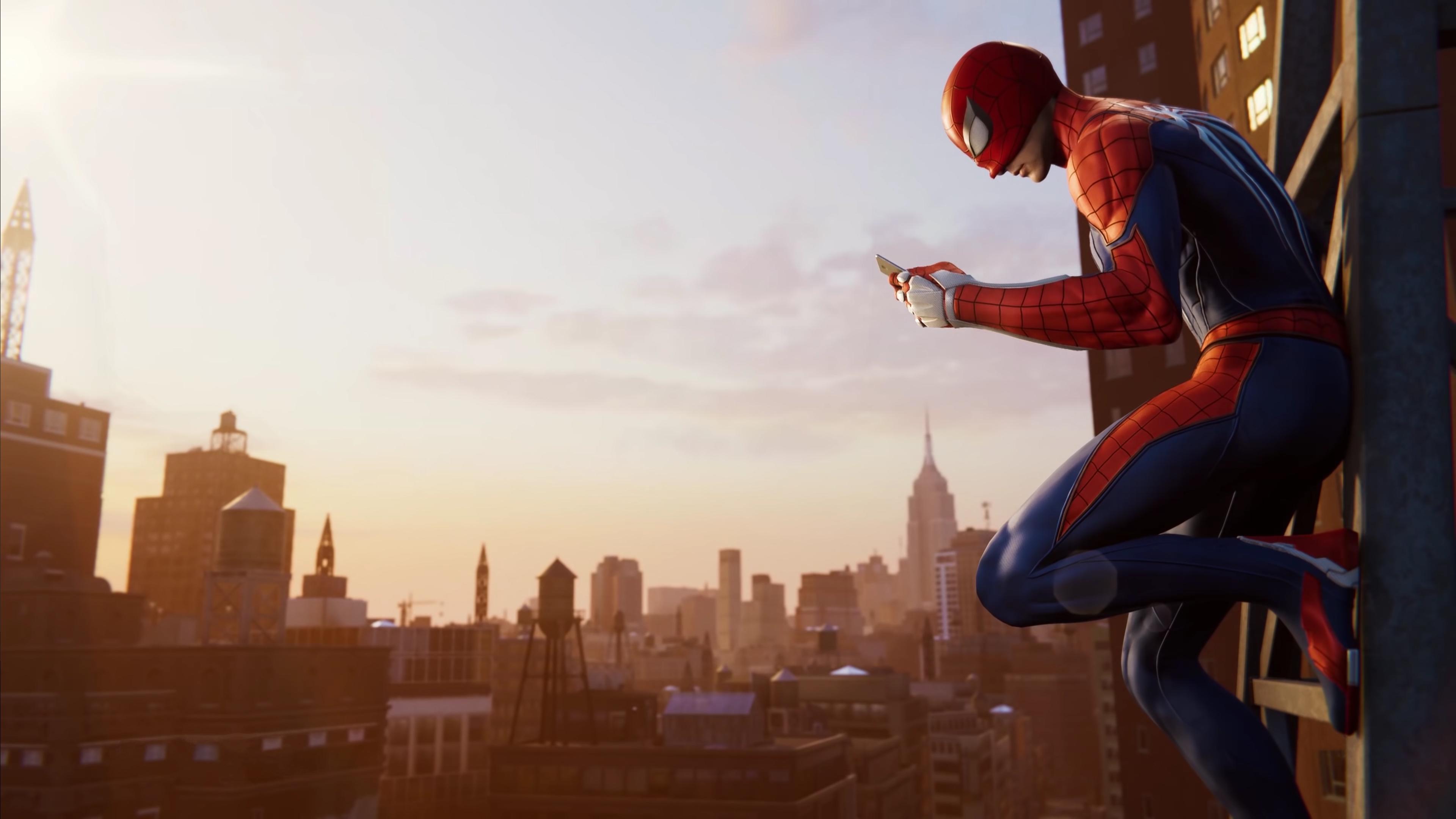 Spider Man Ps4 4k Ultra Hd Wallpaper Sfondi 3840x2160 Id