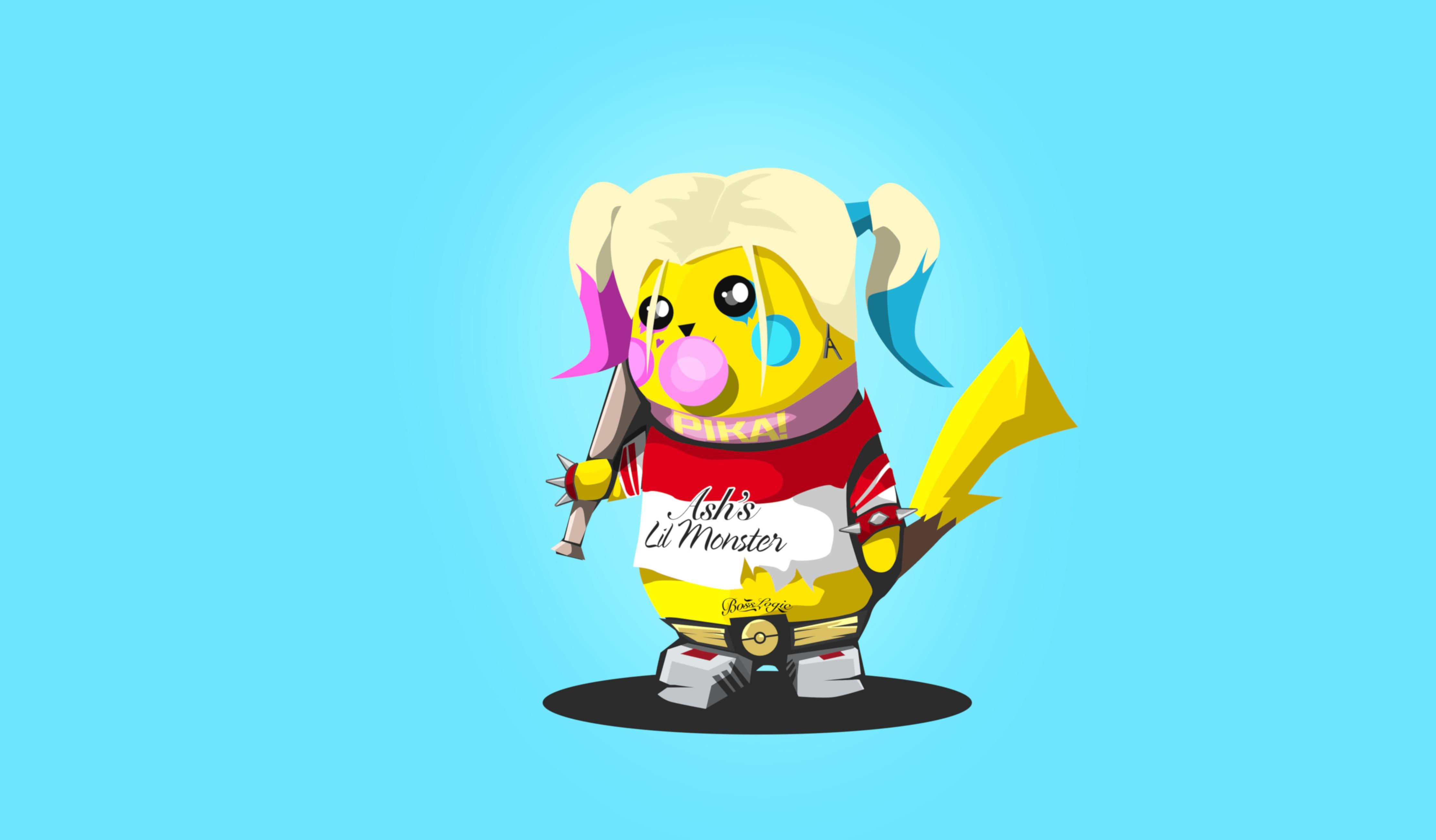 Pikachu 4k Ultra HD Wallpaper | Background Image | 4445x2600 | ID:942055 - Wallpaper Abyss