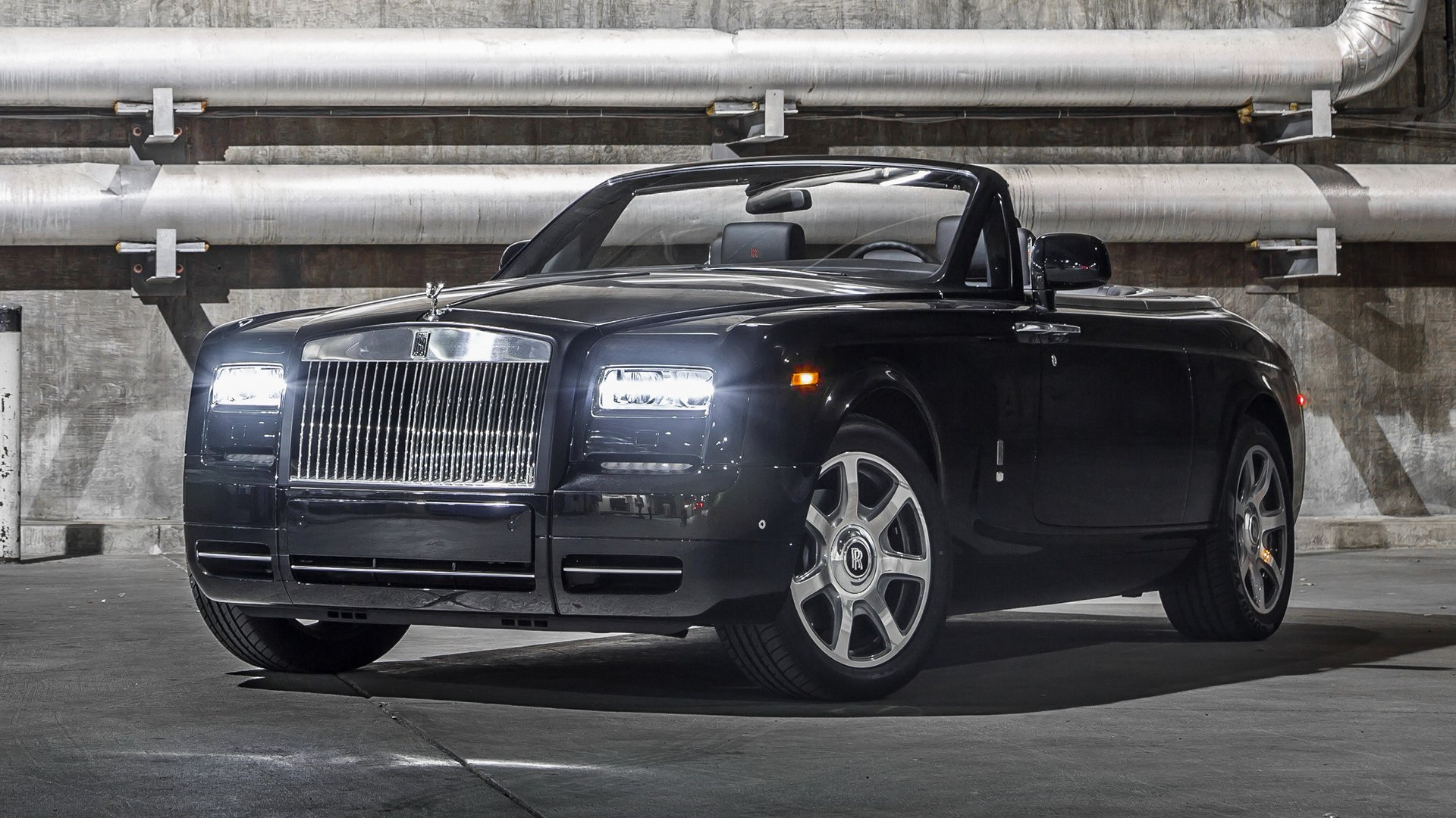 Обои phantom, drophead, Rolls royce. Автомобили foto 19