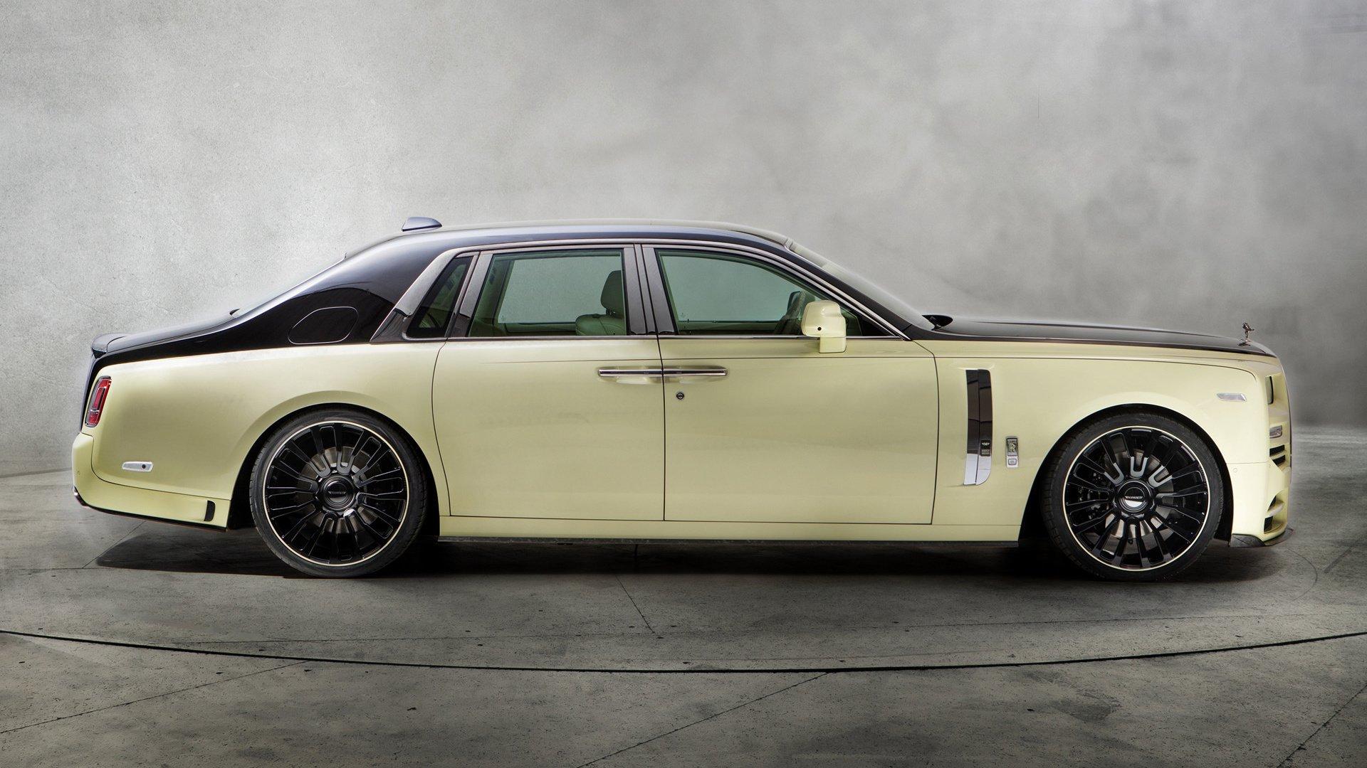 2018 Rolls Royce Phantom Bushukan Edition By Mansory Hd Wallpaper