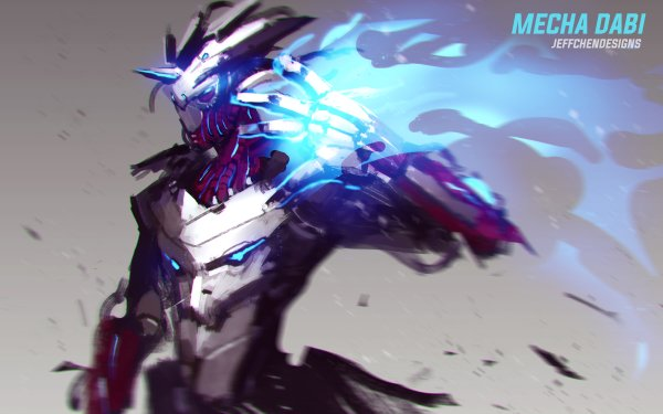 Anime My Hero Academia Dabi Mecha Flame HD Wallpaper | Background Image