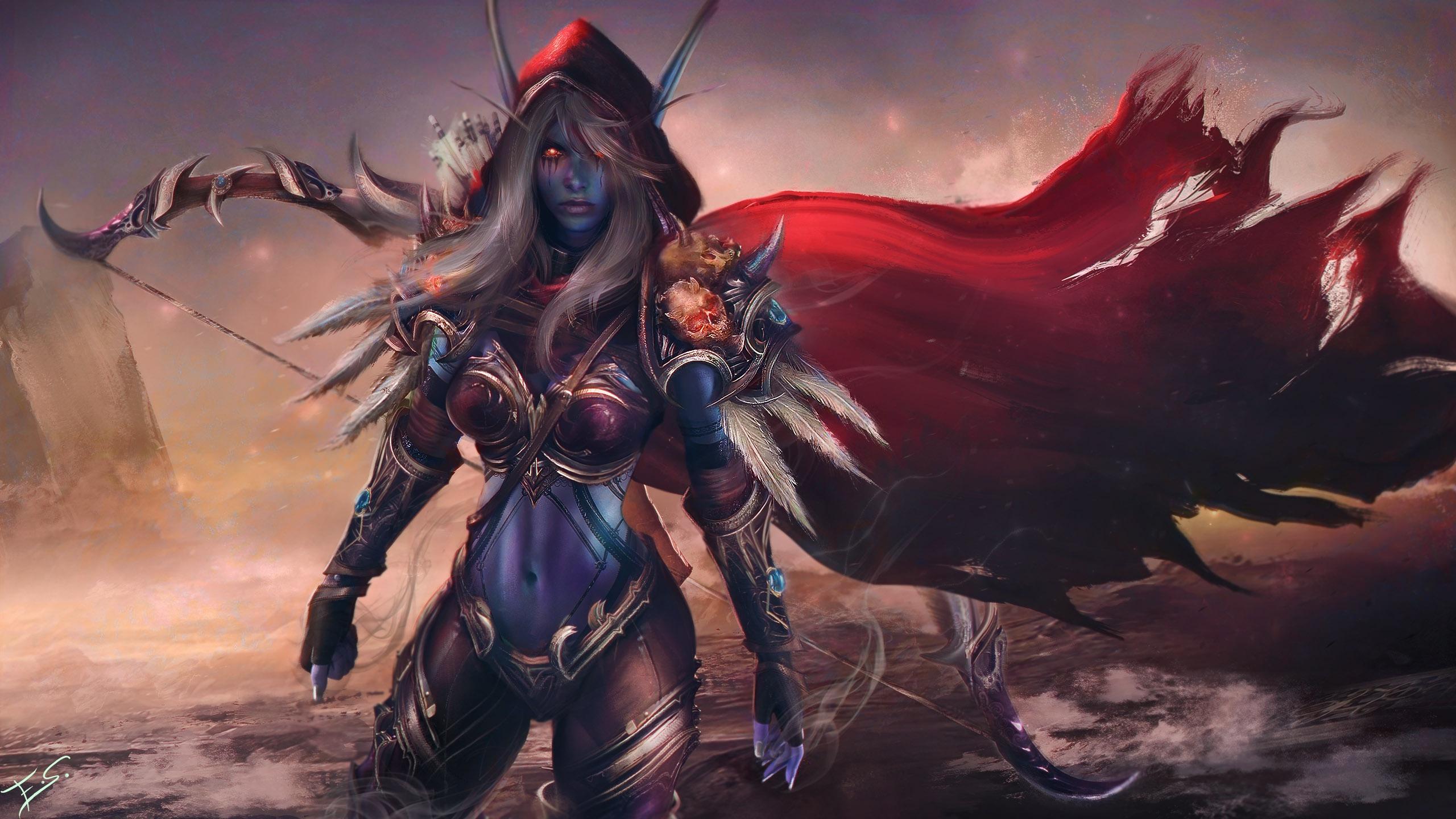 World Of Warcraft Hd Wallpaper Background Image 2560x1440 Id