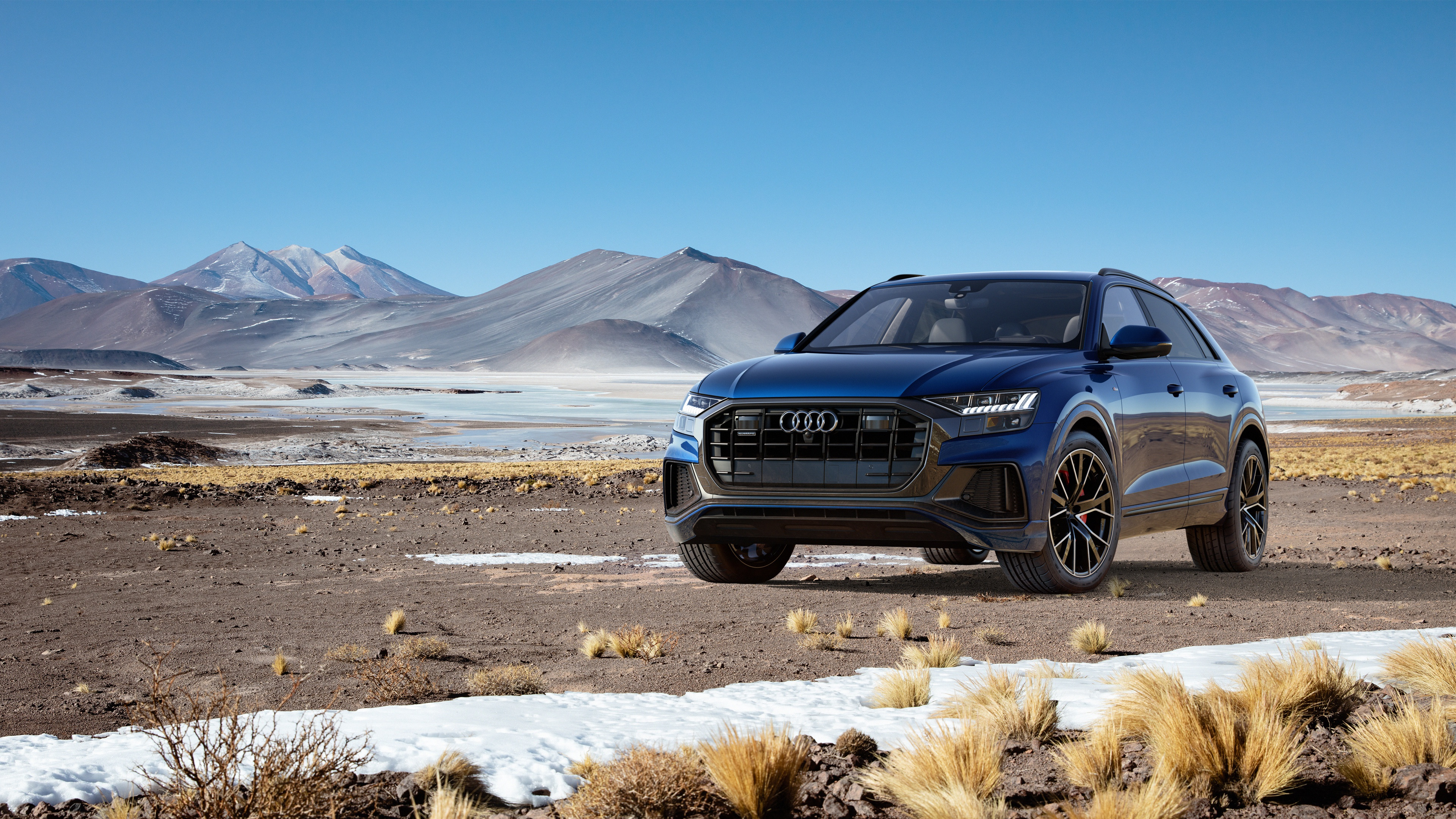 Audi Q8 4k Ultra HD Wallpaper   Background Image ...