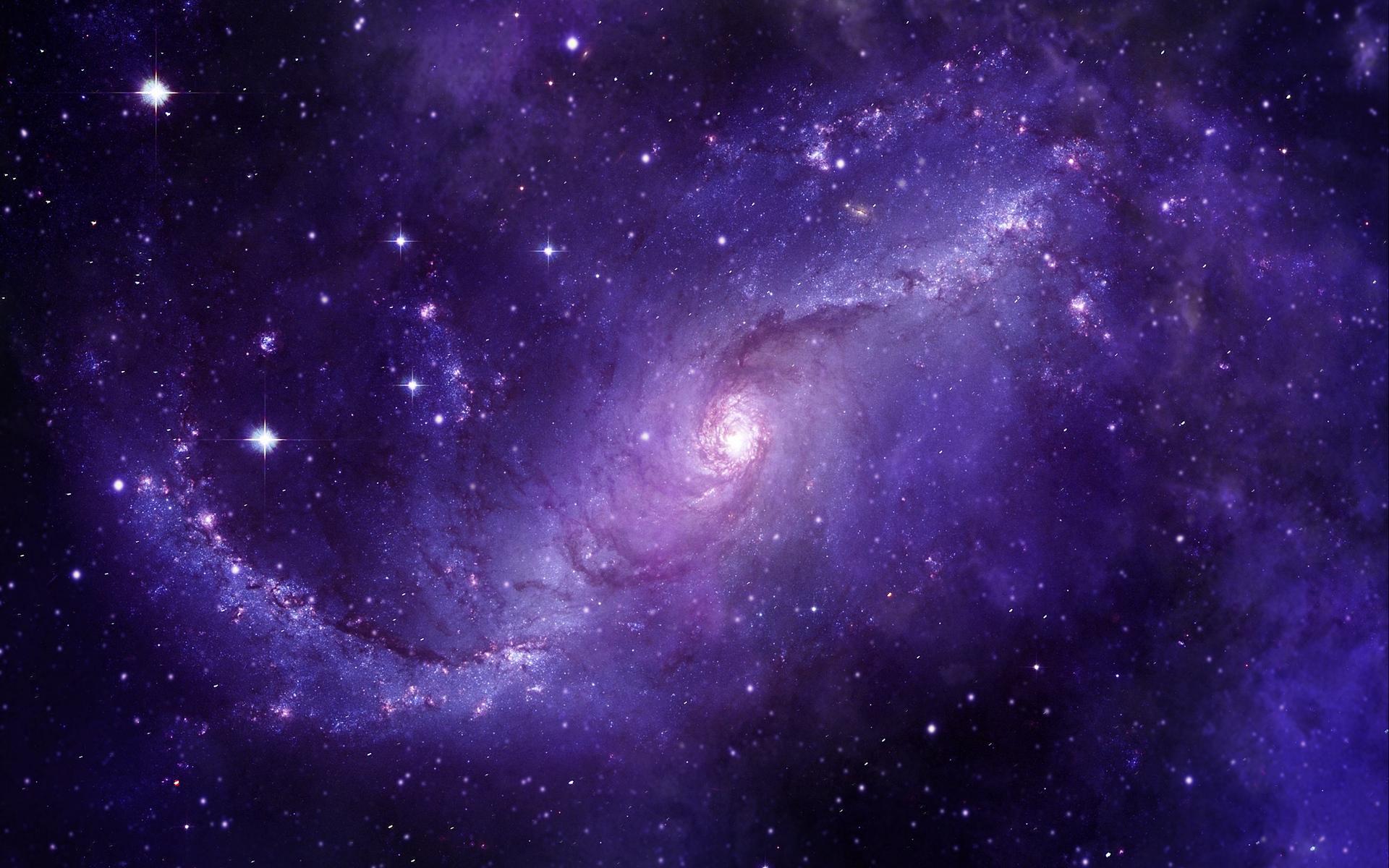 Purple space hd wallpaper background image 1920x1200 - Purple space wallpaper ...