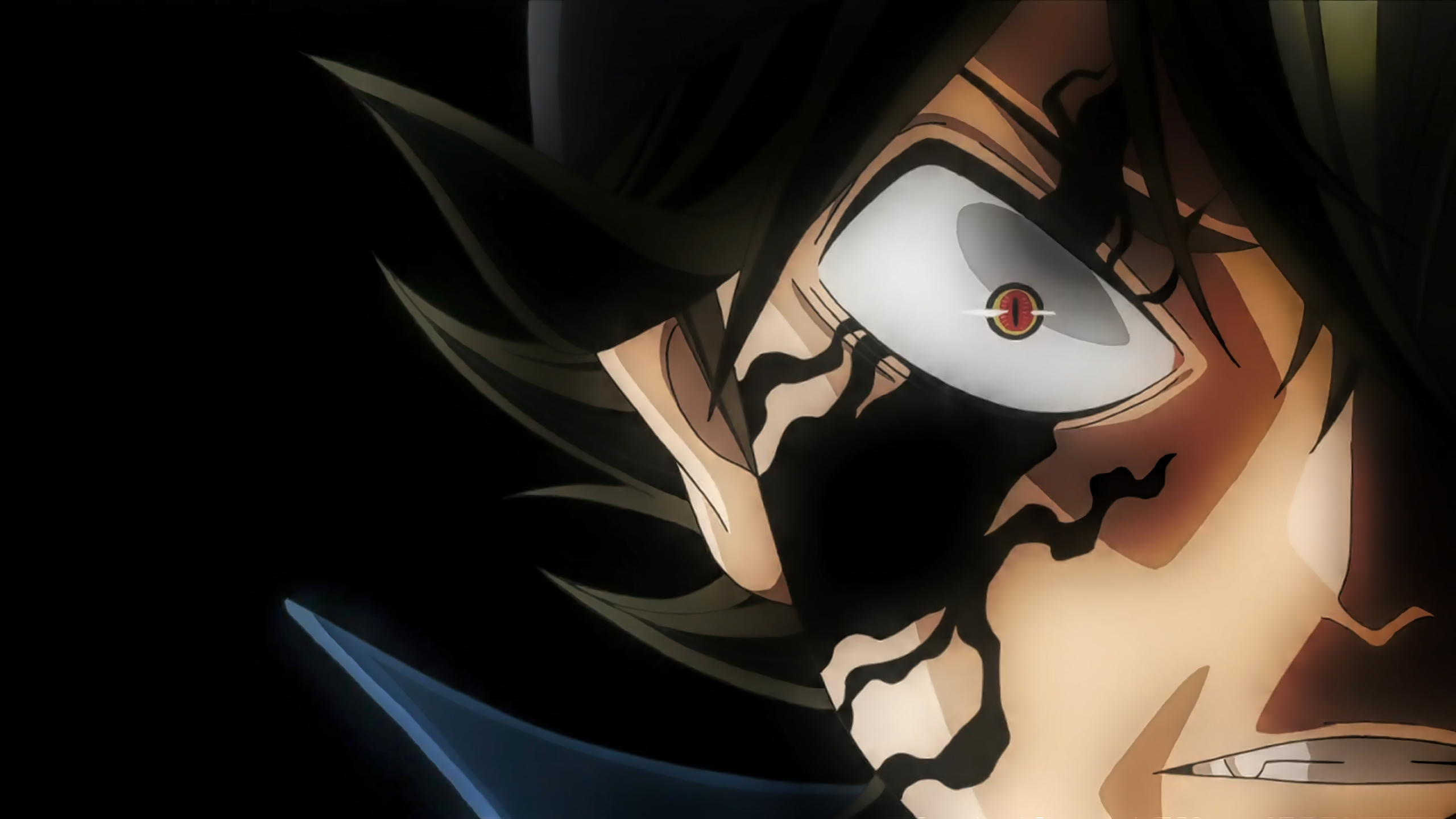 Asta S Demon Glimpse Hd Wallpaper Background Image 2560x1440 Id 947906 Wallpaper Abyss