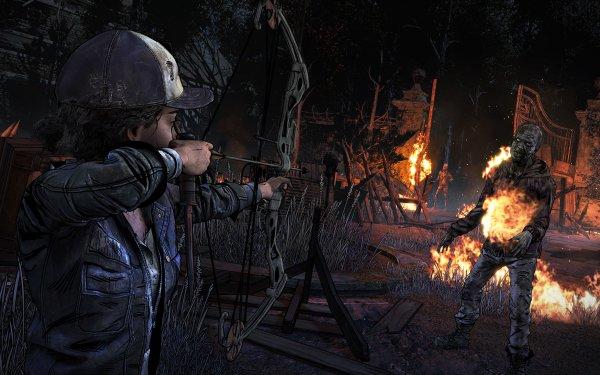Video Game The Walking Dead: The Final Season The Walking Dead HD Wallpaper   Background Image