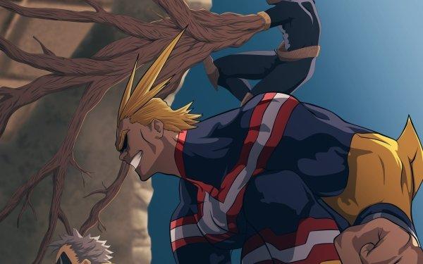 Anime My Hero Academia Sorahiko All Might Toshinori Yagi Shinji Nishiya HD Wallpaper | Background Image