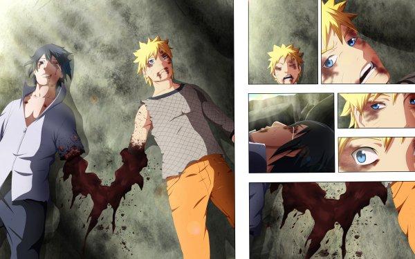 Anime Naruto Naruto Uzumaki Sasuke Uchiha HD Wallpaper | Background Image