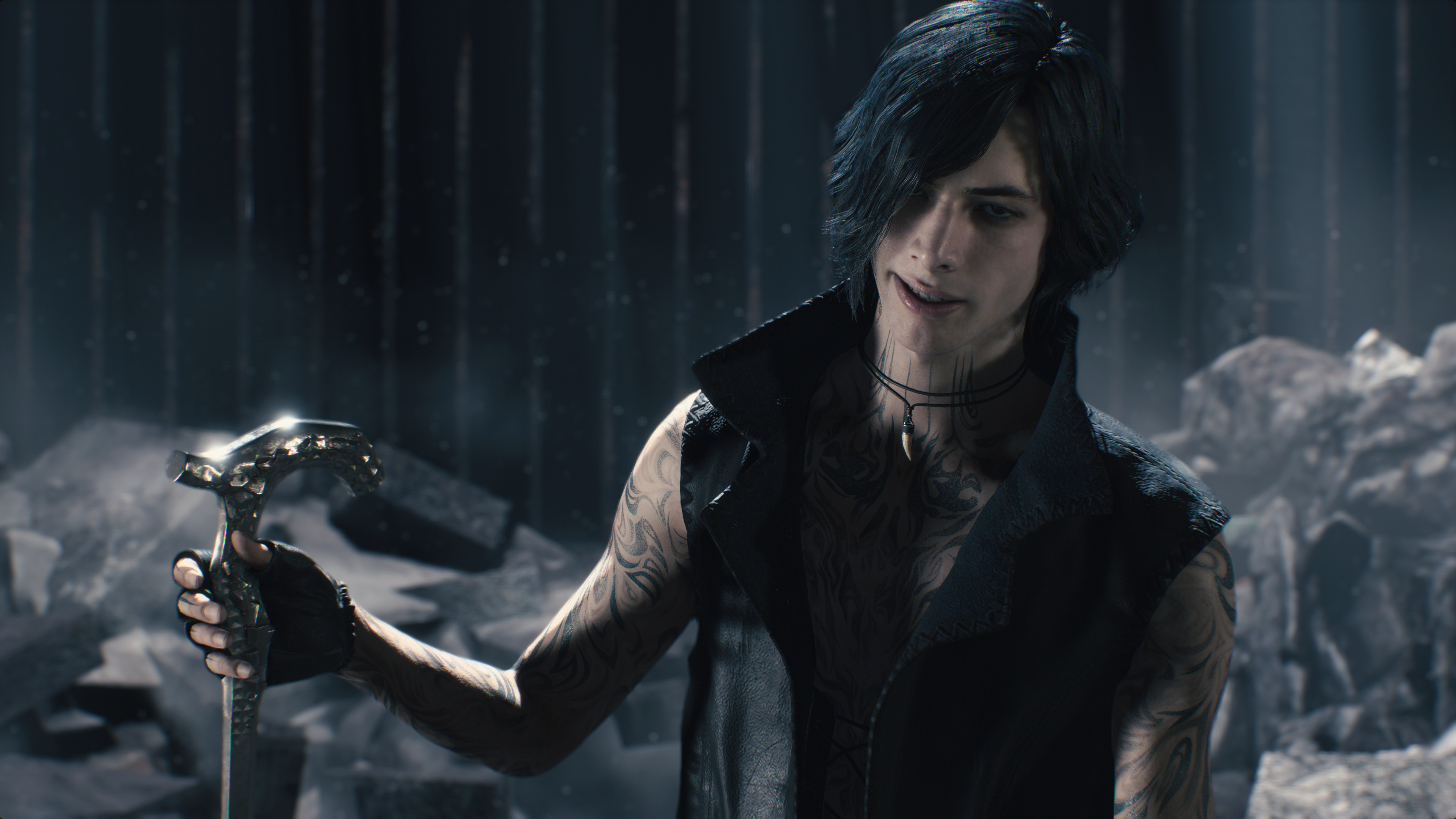 Devil May Cry 5 V 4k Ultra Hd Wallpaper Background Image