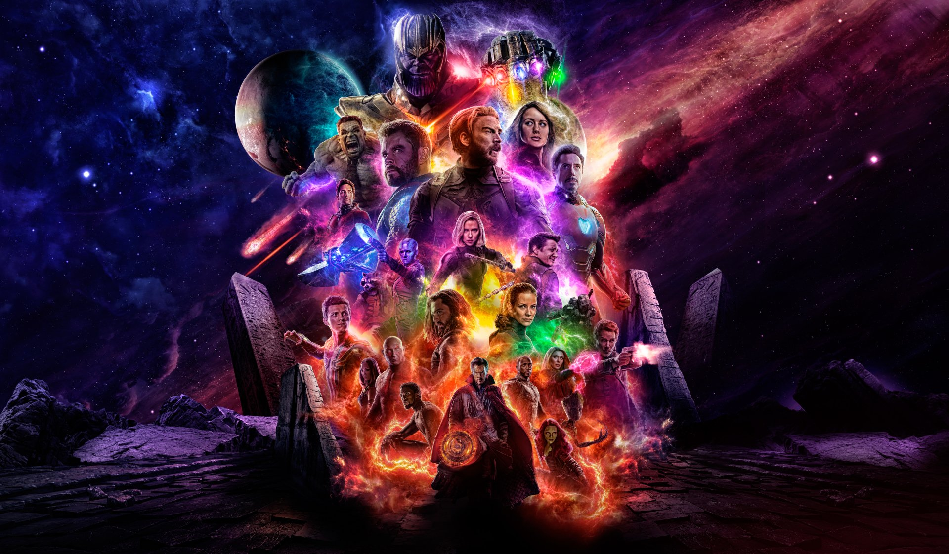 84 4k Ultra Hd Avengers Endgame Wallpapers Background Images
