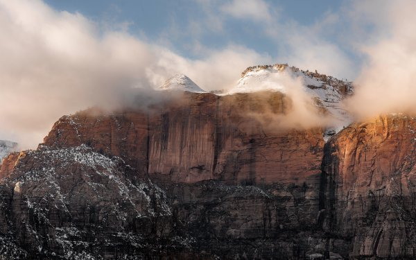 Earth Mountain Mountains Zion National Park United States HD Wallpaper | Background Image