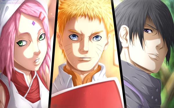Anime Naruto Naruto Uzumaki Sasuke Uchiha Sakura Haruno HD Wallpaper | Background Image