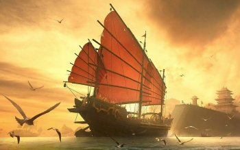 Fantasy - Ship Wallpapers and Backgrounds ID : 95129