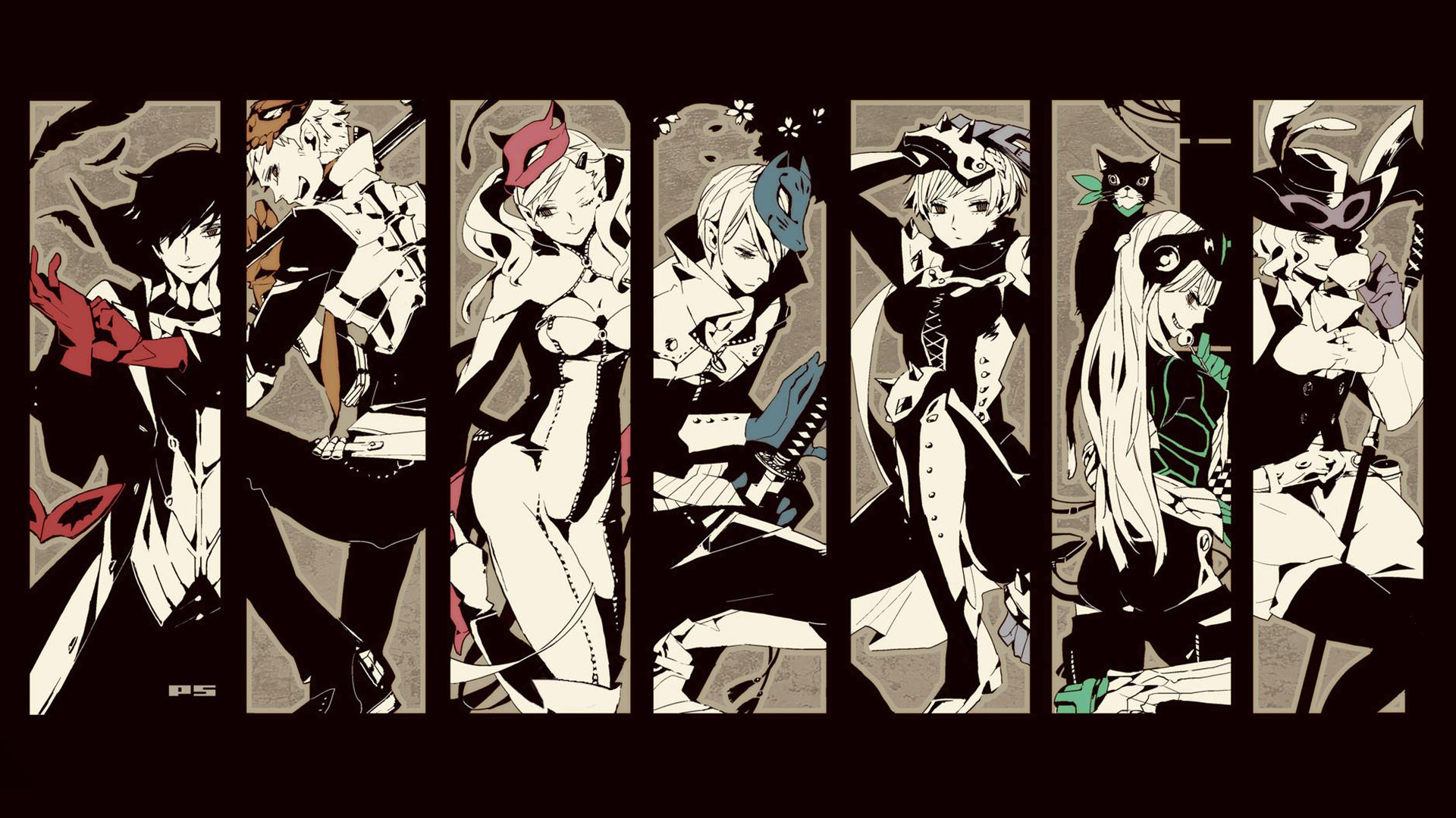 Persona 5 HD Wallpaper | Background Image | 1920x1080 | ID ...